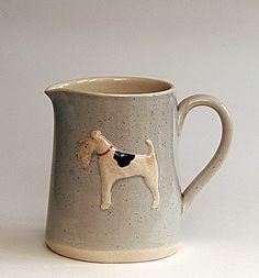 Hogben Pottery Fox Terrier