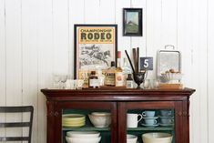 This kitchen is brimming with farmhouse style.
