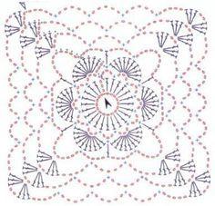 cuadros a crochet patrones - Buscar con Google