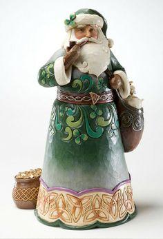WANT- Irish Santa figure