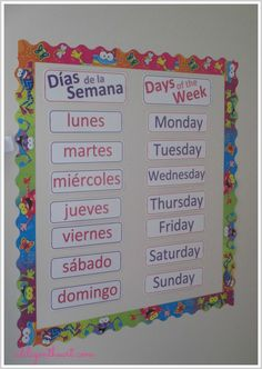 {Free} Calendar Printables (English and Spanish)