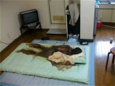 Human decomposition stain