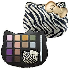 SALE! Take an extra 20% off this sale item. Use code EXTRA20 at checkout through 1/2/13. Hello Kitty Wild Thing Makeup Palette $34 #Sephora #Sale kitti beauti, hello kitti, thing makeup, beauti patrol, kitti makeup, hello kitty3, hello kitty sephora, kitti wild, christmas gifts