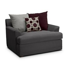 American Signature Furniture - Radiance Upholstery Chair and a Half $469.99