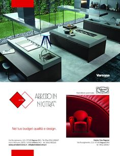 Arredo In Nicitra ADV - Advertising for magazine layout #poltrona #cucine #arredamento #advertising #magazine #layout #graphic #design #inspiration #campain #pubblicità #media #creative #ideas #photograpy  www.euromanagement.it