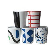 10-Gruppen Mug, Square - 10-Gruppen - Rörstrand - RoyalDesign.com: One of each please! #Mug #10_Gruppen