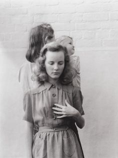 15-year-old Petula Clark in Vogue, 1947, photographed by Norman Parkinson
