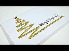 Christmas Cards #6 | Arbol de Navidad Elegante con Lazos - YouTube