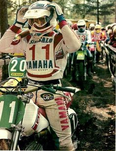 Vintage Motocross... excitement is in the leaps