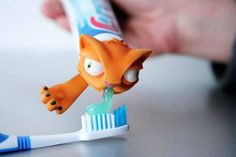 Kids will want to brush their teeth with this