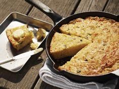 Roasted Poblano Skillet Cornbread Recipe : Guy Fieri : Food Network - FoodNetwork.com