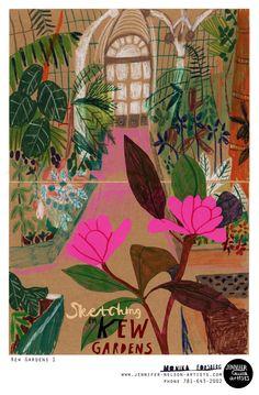 Coyote Atelier illustration inspiration: Monika Fosberg