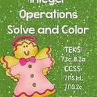 Aligned to TEKS 7.3c and 8.2c as well as Common Core 7.NS.1d and 7.NS.2c,In this activity, students will solve 20 problems using all four operati...