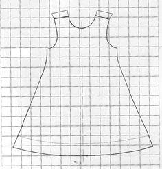 Le tuto de la robe trapèze réversible - Le blog de creagil