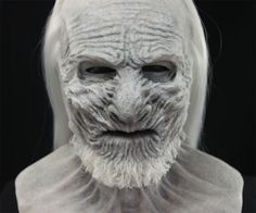 Coolest Halloween costume of the season: White Walker Mask | DudeIWantThat.com