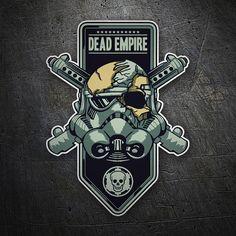 Pegatinas: Dead Empire #friki #TeleAdhesivo