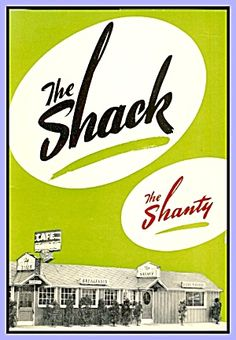 The Shack, Spokane WA Restaurant Menu 1950s
