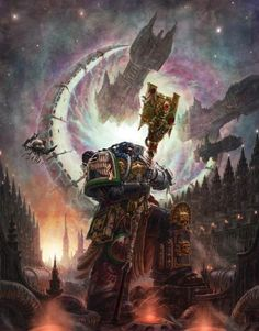 What Are Your Favorite Concept Art Pieces Of The Imperium? Warhammer Fantasy, Warhammer 40k Art, Fantasy Kunst, Sci Fi Fantasy, Auras, Battlefleet Gothic, Deathwatch, To Infinity And Beyond, Geek Art