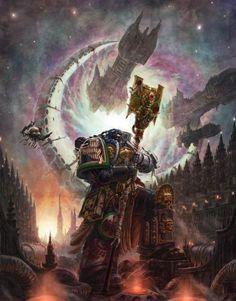 Warhammer 40K - Librarian with Battle Fleet