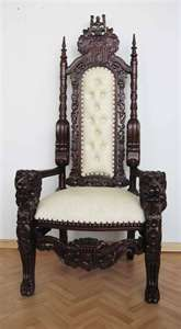 Furniture Antique Reproduction Furniture Chairs Victorian Throne _ I GOT THAT in blue leather Dream Furniture, Victorian Furniture, Furniture Chairs, Accent Furniture, Antique Furniture, Furniture Decor, Victorian Design, Victorian Decor, House Beautiful
