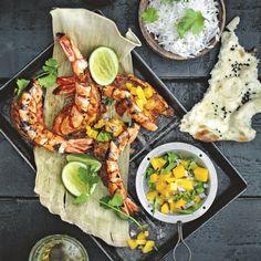 RECIPE: Grilled seafood with Goan masala paste from Jennifer Joyce's cookbook 'My Street Food Kitchen'.