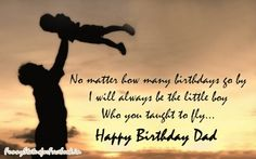 birthday cards for facebook to dad | Happy Birthday Father Facebook Whatsapp Wishes Status Quotes Messages ...