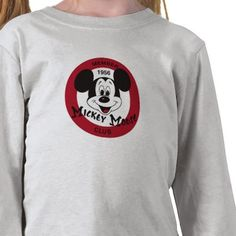Mickey Mouse Club logo Tee Shirt from http://www.zazzle.com/mickey+mouse+club+tshirts