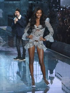 Pin for Later: You'll Never Look at Underwear the Same Way Thanks to This Year's VS Fashion Show  Jasmine Tookes