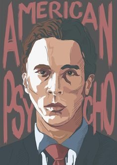 American Psycho (2000) HD Wallpaper From Gallsource.com American Psycho, Christian Bale, Hd Backgrounds, Hd Wallpaper, Horror, Movie Posters, Movies, Fictional Characters, Art