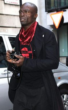 Henry Olusegun Adeola Samuel -- better known as SEAL (with his Leica)