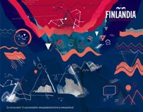 FINLANDIA MANGO VODKA MURAL for FLISAK76 by gosia stolinska, via Behance