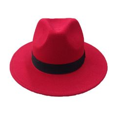 Retro Fedora Hats in Colors For men and women. Winter Felt Caps with Wide  Brim db45c87a5ed