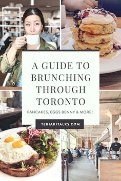 Looking for great brunch places in Toronto? Toronto is the city where your morning cravings for pancakes, eggs benny and spicy Caesars will be satisfied. Here are a few of the most drool-worthy Toronto brunch spots to add to your list! Ontario Travel, Toronto Travel, Brunch Places, Brunch Spots, Food Places, Places To Eat, Egyptian Food, Toronto Life, In Season Produce