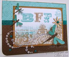 The Scrap Zone: Picture My Life cards using Skylark