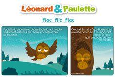 """Léonard et Paulette vous embarquent dans leur première aventure : """"Flac Flic Flac"""", disponible en téléchargement sur le blog House of Toys."""
