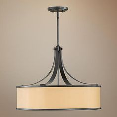 """Feiss Casual Luxury Collection 23"""" Wide Pendant Chandelier"""