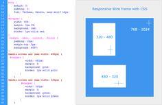 Responsive Web Design Sample Layout CSS