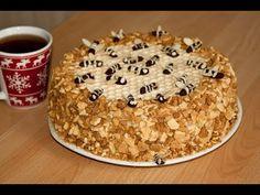 Торт Медовик. / Вкуснейший крем со сгущенкой.