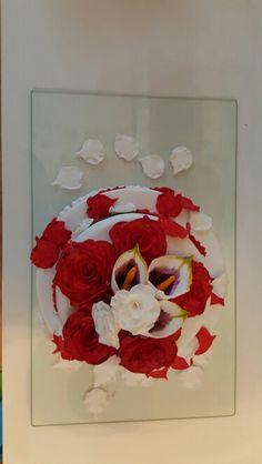Wedding cake Wedding Cakes, Flag, Art, Galaxies, Pies, Wedding Gown Cakes, Art Background, Kunst, Cake Wedding