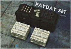 My Sims 4 Blog: Payday - Decorative Money Set by RJayden