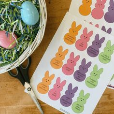 of Easter Egg Hunt Peeps! Fill your eggs hunt eggs with these peeps to surprise your kids with special activities! Halloween Snacks, School Parties, Egg Hunt, Easter Baskets, Quality Time, Some Fun, Allergies, Easter Eggs, Free Printables