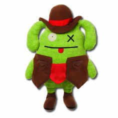 """Ugly Dolls Comic Book Series 11"""" Plush: Wild West Ox"""