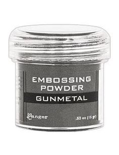 NEW! Embossing Powder Gunmetal Metallic
