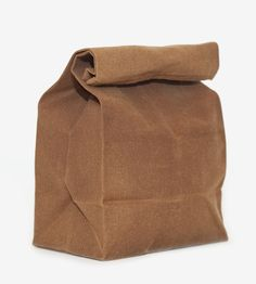 Awesome! :: Waxed Canvas Lunch Bag by WAAM Industries  on Scoutmob