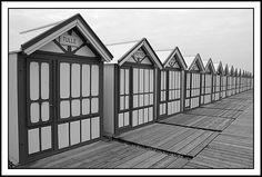 cabines de plage, Cayeux sur mer