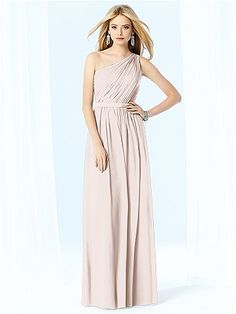 """Blush"" Colored Dress. After Six Bridesmaids Style 6706 http://www.dessy.com/dresses/bridesmaid/6706/"