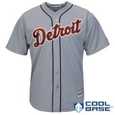 Detroit Tigers 2015 Cool Base Road Jersey - MLB.com Shop