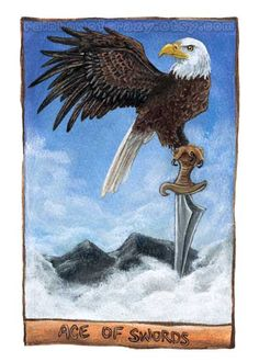 Ace of Swords by Joanna Cheung / sobeyondthis (Animism Tarot)