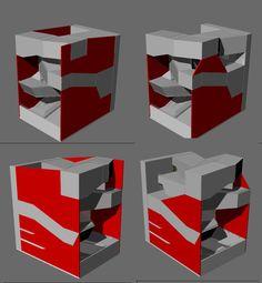 """in rosso i soliti setti portanti laterali..a sinistra completi in modo da formare una superficie piana ai lati e a destra la parte propriamente strutturale..nel modello quale versione ci consigli di realizzare? a breve anche lo schema strutturale dei tubi..p.s. abbiamo aumentato lo spessore dei """"solai"""" a 80 cm come consigliato..1 m risultava troppo difficile per la modellazione"""