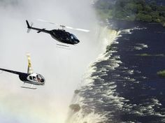 A helicopter ride of the Victoria Falls with Batoka Sky Victoria Falls, Southern, Africa, Sky, World, Travel, Heaven, Viajes, Heavens